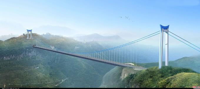 矮寨特大懸索橋