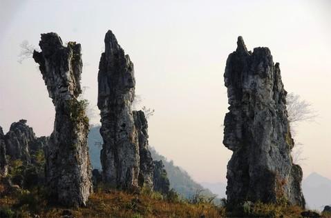竹林堡石林