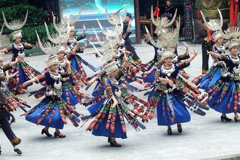 原生態苗族歌舞表演