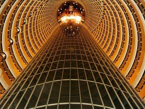 金茂大廈88層觀景台
