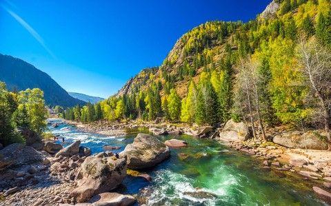額爾齊斯河大峽谷