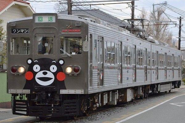 萌熊Kumamon電車