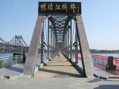 鴨綠江斷橋