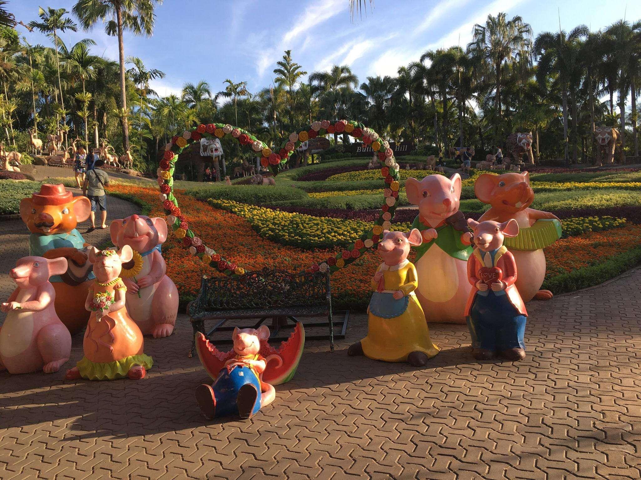 《旅展折$2,000》經典享趣泰國~東芭樂園、與象有約、五星海景饗宴、河畔夜市5日(含稅)