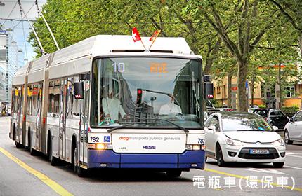 黃果樹瀑布環保公車