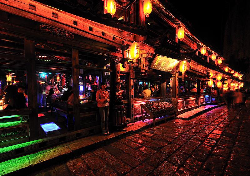 古城酒吧一條街