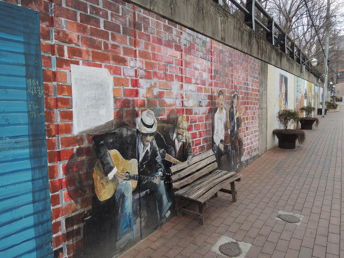 金光石路壁畫街