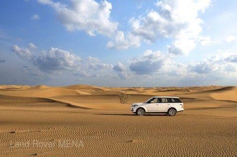 四輪傳動車沙漠之旅(杜拜)