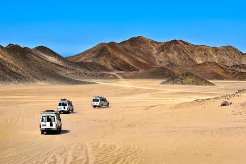四輪傳動車沙漠之旅(胡加達)
