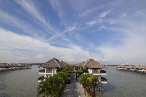 《現省六千》經典時尚馬來西亞~大紅花海上VILLA、AVANI棕櫚渡假村、大紅花愛之遊船、精油SPA療程5日(無購物)