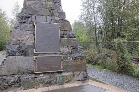 最後一根釘紀念碑