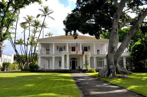華盛頓宮(夏威夷州長官邸)