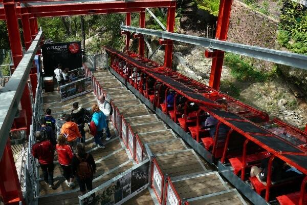 礦坑纜車Railway-藍山國家公園