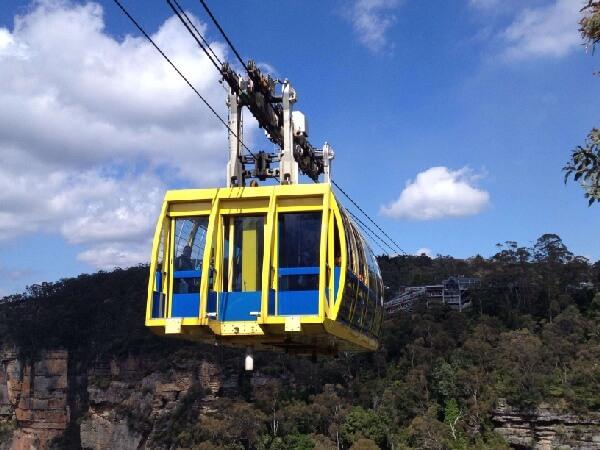 空中纜車Cableway-藍山國家公園