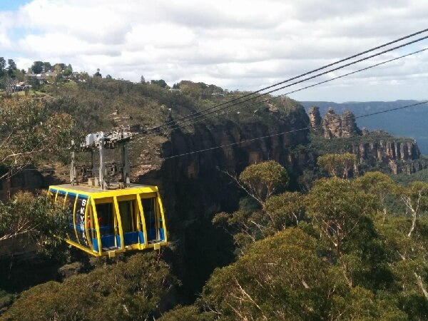 觀景纜車Skyway-藍山國家公園