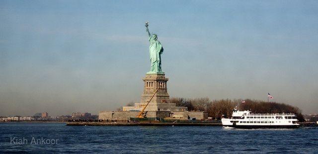 自由女神像遊船登島