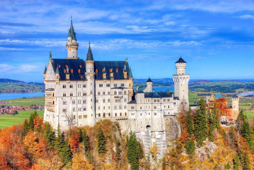 【賺很大】德瑞鐵力士山、壁畫村、蒂蒂湖、黃金列車、萊茵瀑布10日