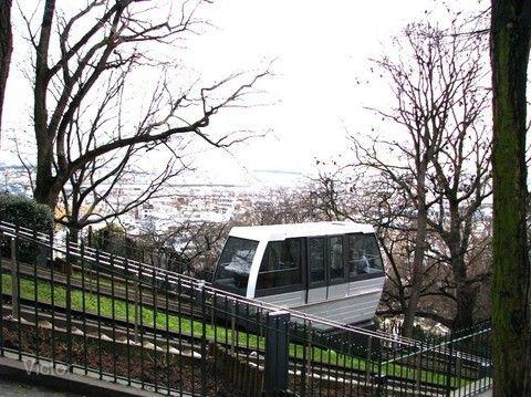 蒙馬特纜車