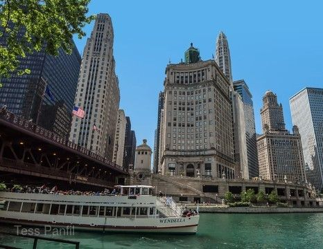 芝加哥Wendella觀光船