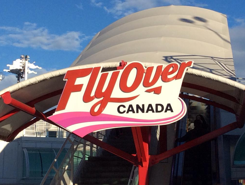 飛越加拿大4D飛行劇院