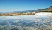 棉花堡溫泉池(石灰棚)