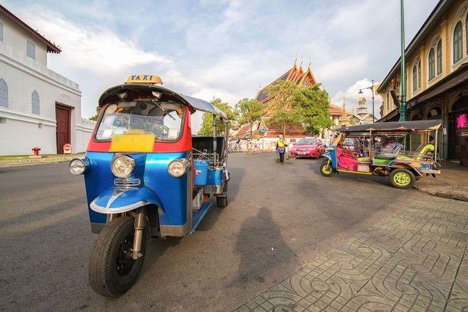 嘟嘟車遊曼谷