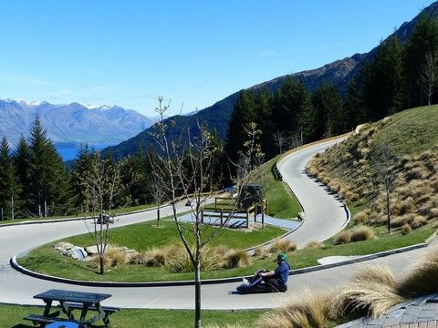 統營斜坡滑車Skyline Luge