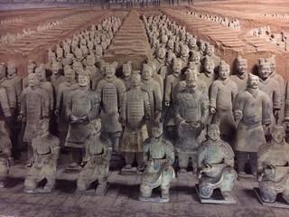 【最愛中華】五星雙古都、悅椿溫泉、龍門石窟、兵馬俑六日 (個人耳機)