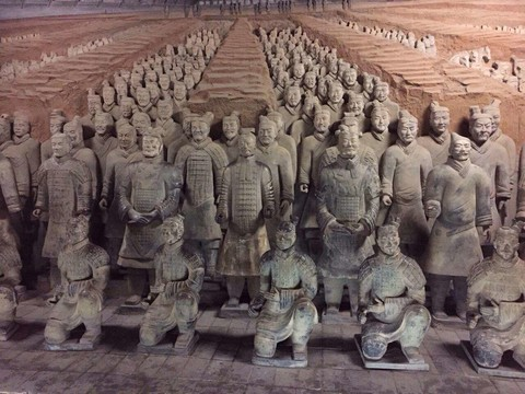 【最愛中華】五星雙古都、悅椿溫泉、龍門石窟、兵馬俑六日 (無購物、無自費、個人耳機)