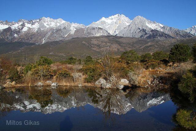 玉龍雪山冰川公園