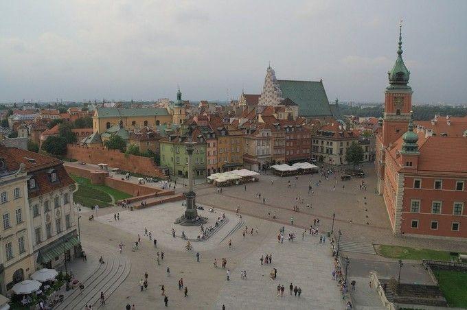華沙舊城區