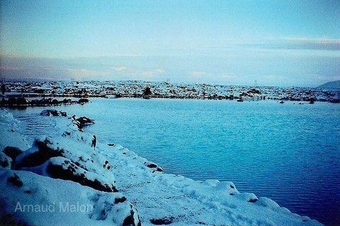 藍色溫泉湖(冰島)