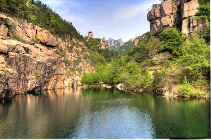 嶗山風景區-北九水景區