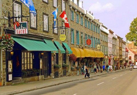 魁北克老城區