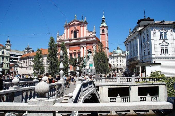 盧布爾雅那舊城區