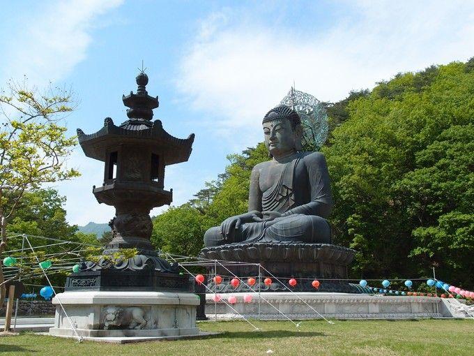 青銅大佛像