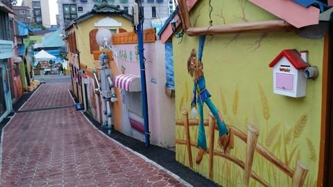 【歡樂滑雪】韓國滑雪、五彩星光村、愛寶樂園、松月洞童話村、HERO塗鴉秀5日