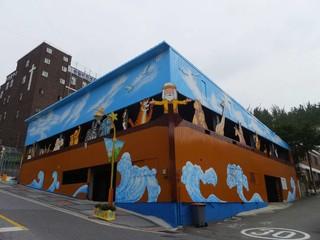 【愛戀韓冬雪】韓國特麗愛冰雕雪之城、歡樂滑雪、愛寶樂園、松月洞童話村、HERO塗鴉秀5天