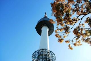 秋楓韓國~愛寶樂園、空中步道、塗鴉秀、穿韓服遊首爾塔五日