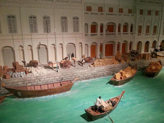 美因檳廊3D互動博物館