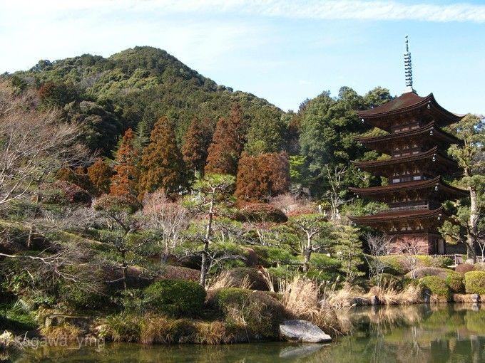 瑠璃光寺-五重塔