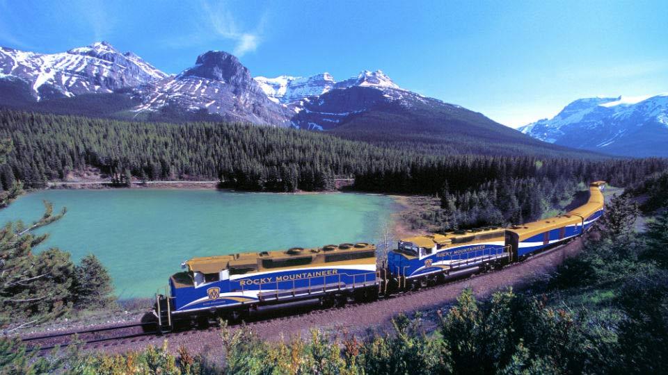 加拿大洛磯山脈巴士火車8天7夜之旅