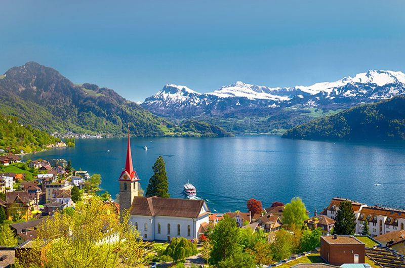 歐洲德國瑞士三大名峰十天