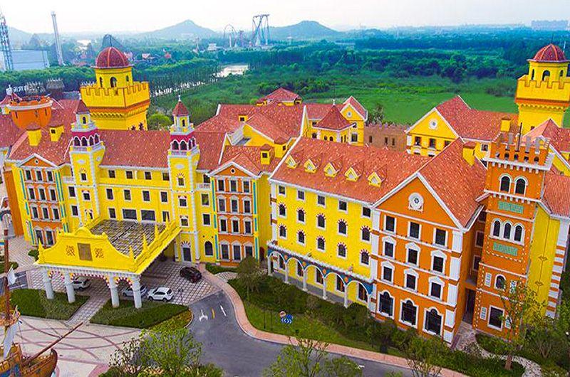 上海迪士尼入住歡樂谷酒店五星五天 只進景中兩站、無自費行程