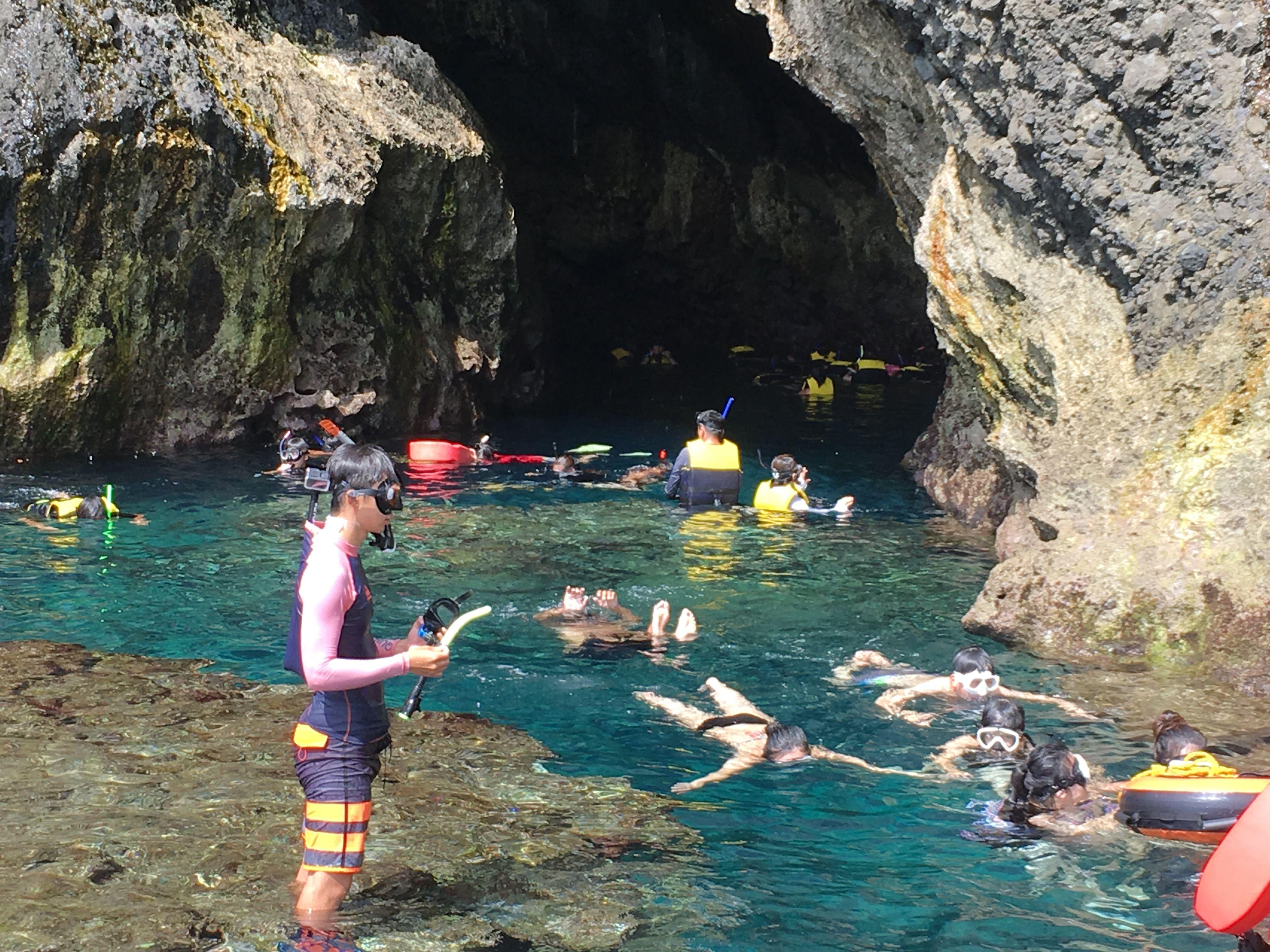 【火車來回】愛在綠島藍洞秘境生態之旅三日
