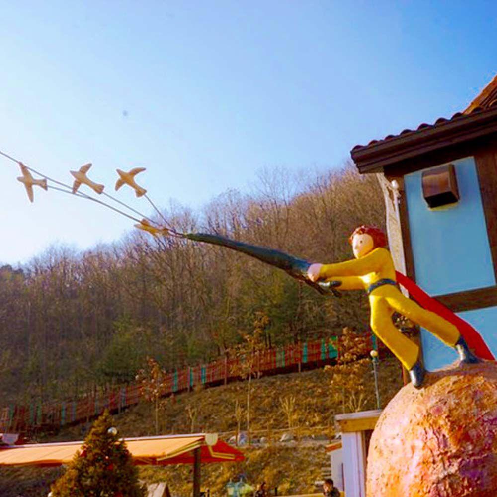 韓國首爾三大樂園南怡島五星渡假村繽紛六天(加碼送瘋狂亂打秀)