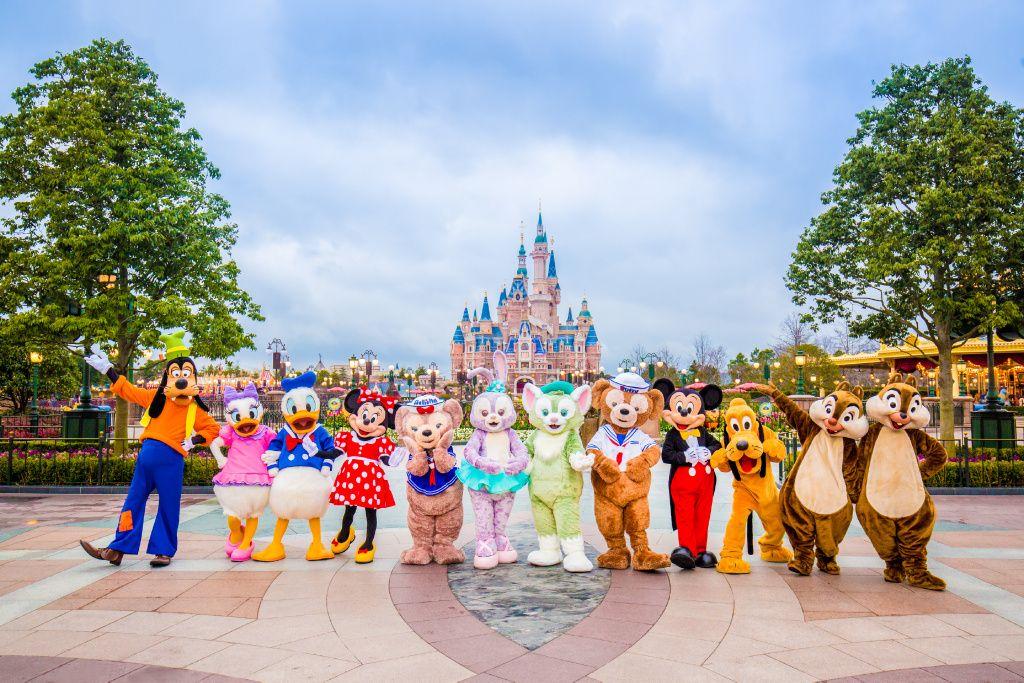 摩登新上海迪士尼繽紛奇夢五星五天-無自費行程