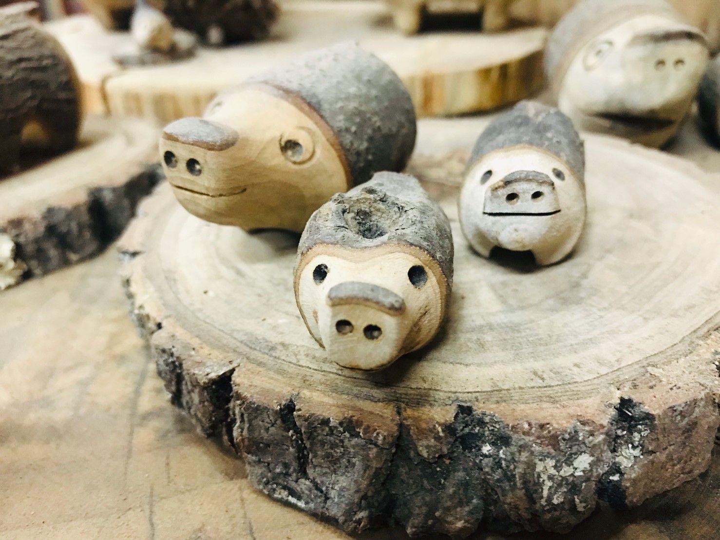 塔山下的山豬部落