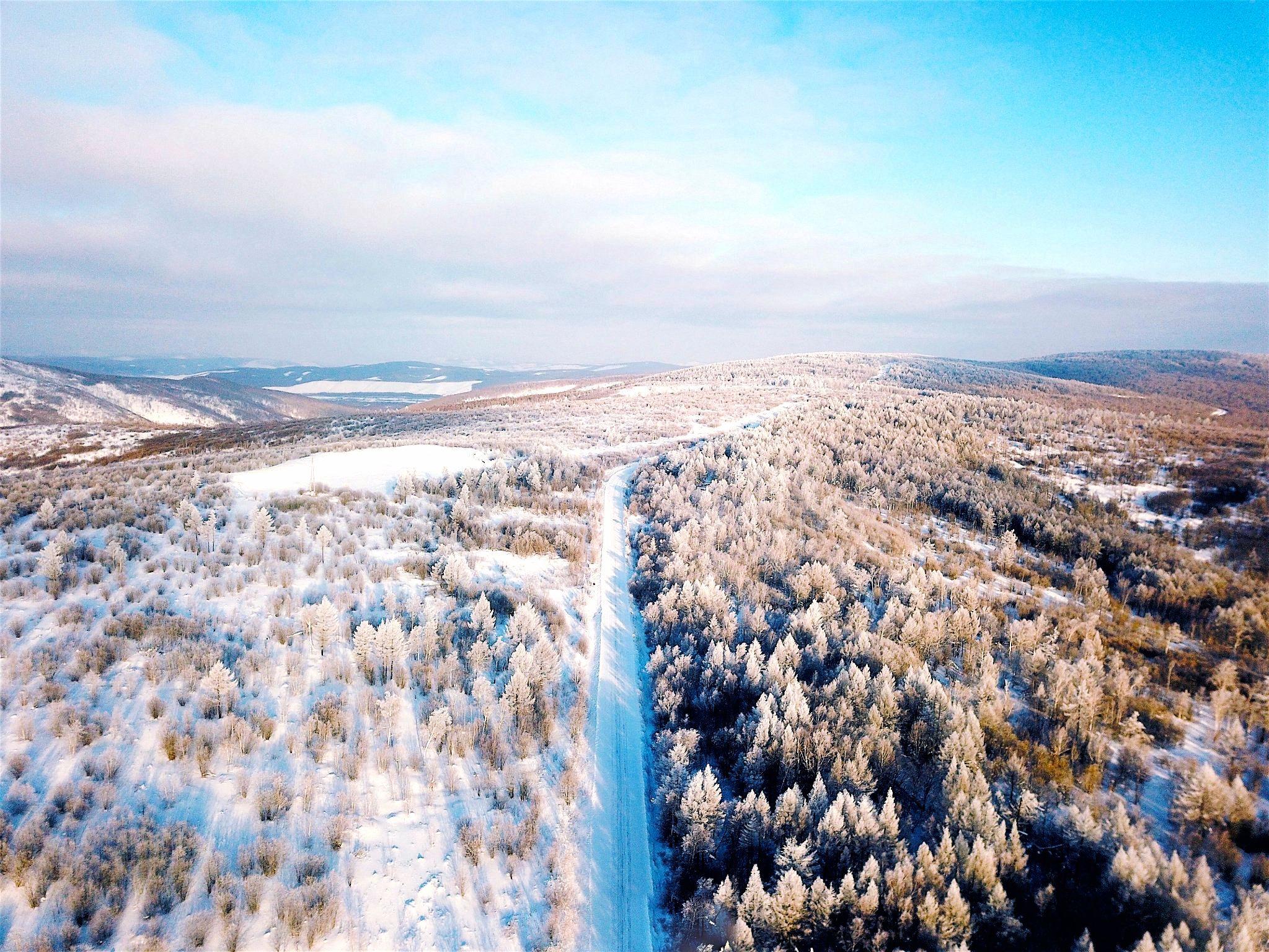 冰雪奇緣-呼倫貝爾 內蒙~銀色草原八天