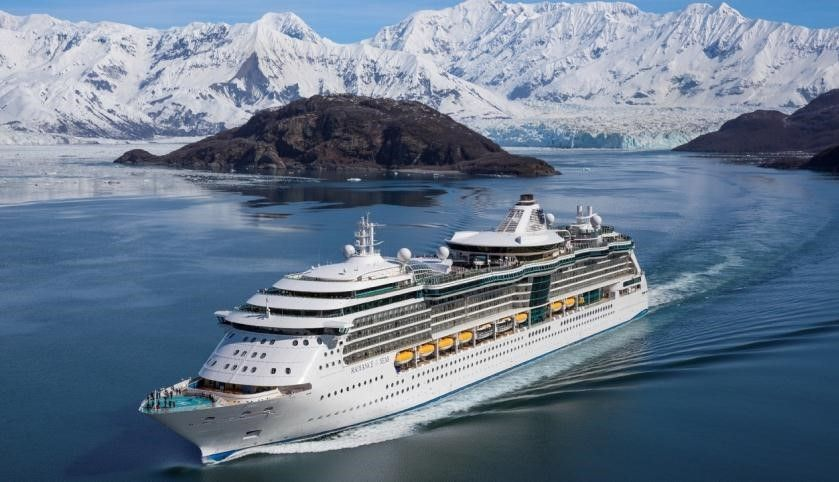 Royal Caribbean Cruise Radiance of the Seas<br>皇家加勒比 海洋燦爛號<br>阿拉斯加哈伯冰河南下航線12天